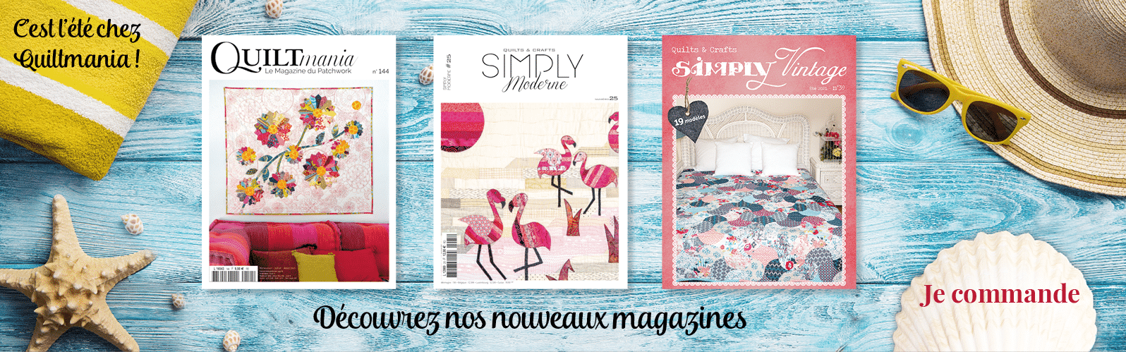 Magazines d'été 2021