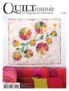 Couverture Quiltmania magazine 144