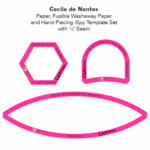 Cecile de Nantes Paper and Laminate Tile