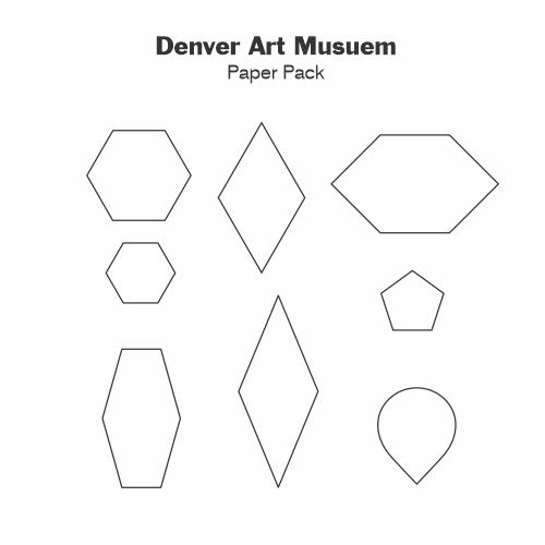 Gabarits Papier Denver Art Museum