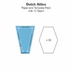 Dutch Attics Acrylic and Paper Tile