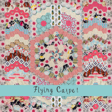 Flying Carpet Quilt - Brigitte Quilt