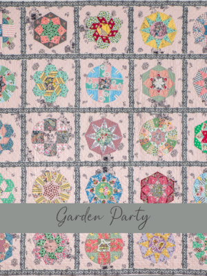 Garden Party gabarits