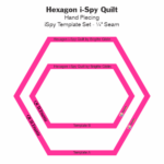 Hexagon I-Spy Quilt Templates