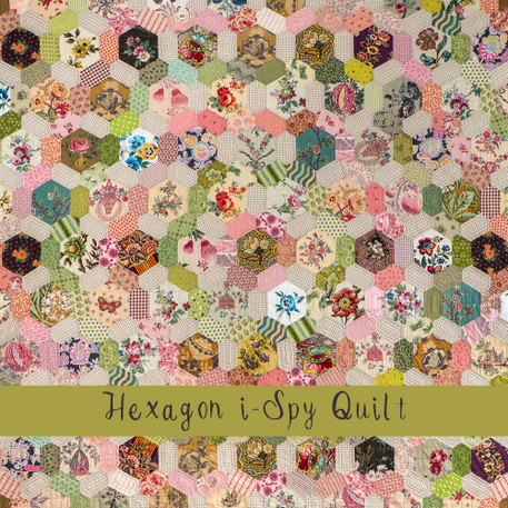 Hexagon I-Spy Quilt - Brigitte Giblin