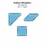 Indiana Medallion Acrylic Tile