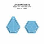 Jewel Medallion Templates