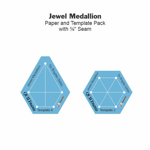 Gabarits Jewel Medallion