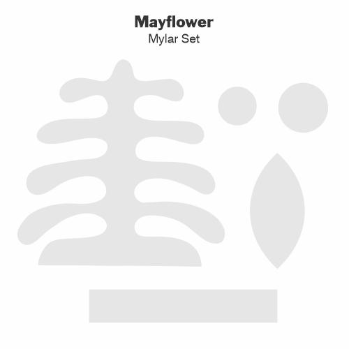 Mayflower Mylar Tile