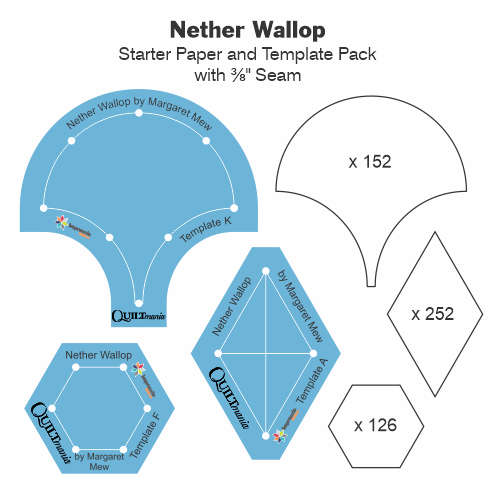 Nether Wallop Paper and Template Tile