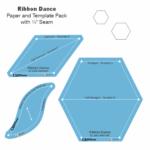 Ribbon Dance Acrylic Tile