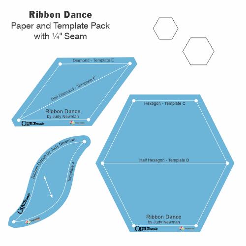 Ribbon Dance gabarits acrylique papier