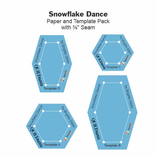 Gabarits Snowflake Dance