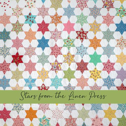 Stars from the Linen Press gabarits