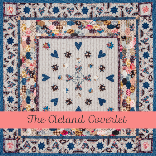 The Cleland Coverlet templ