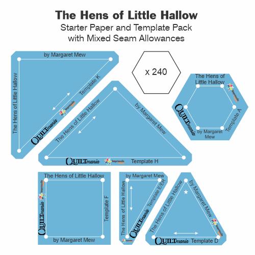 The Hens of Little Hallow gabarits Acrylique papier