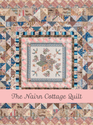 The Nairn Cottage Quilt templates