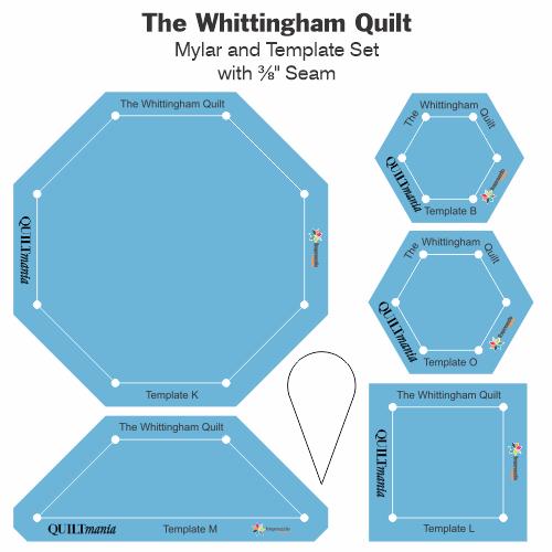 The Whittingham Quilt gabarit acrylique