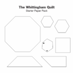 The Whittingham Quilt Paper Pack