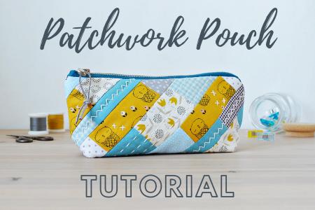 patchwork pouch tutorial