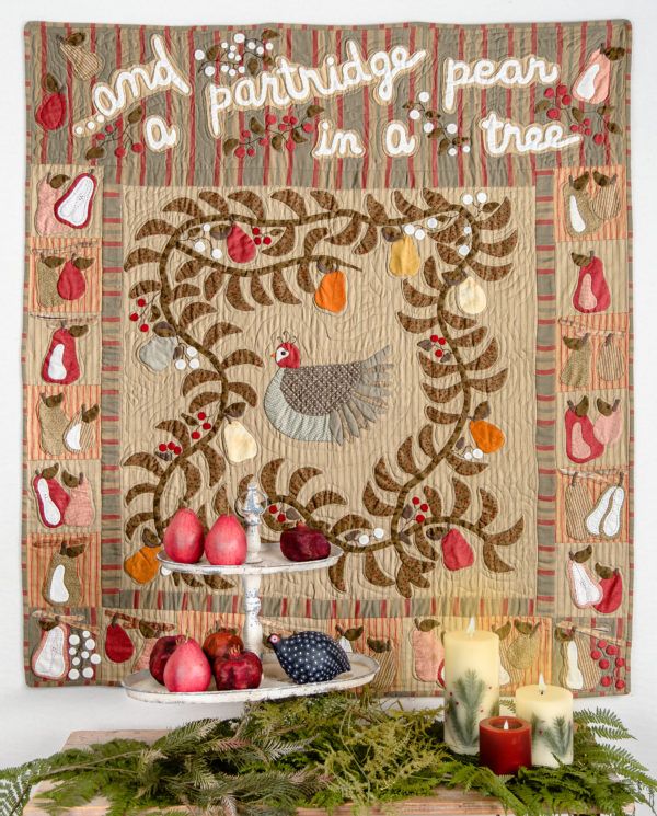 And a Partridge in a Pear Tree - Tonee White - Simply Vintage 40