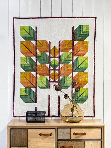 Bosquet Foliage quilt - Andrea Armitage