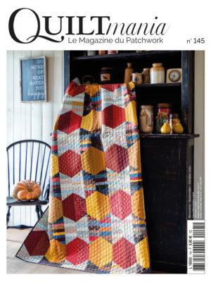 couverture Quiltmania magazine 145