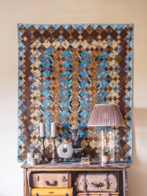 Prussian Blue quilt - Annette Plog
