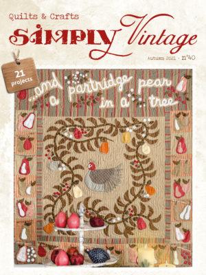 Couverture US/GB Simply Vintage 40
