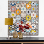 Shimmering Stones quilt – Mieke Duyck