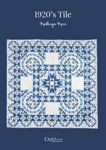 Pattern quilt 1920s Tile - Kathryn Kerr
